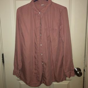 old navy button up top